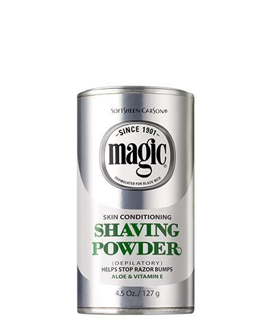 Powder Shave Skin Conditioning Shaving Powder Platinum